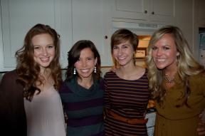 Lauren, Abby, Me, Brit